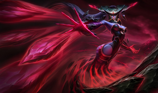 League of Legends Lissandra Bloodstone Splash