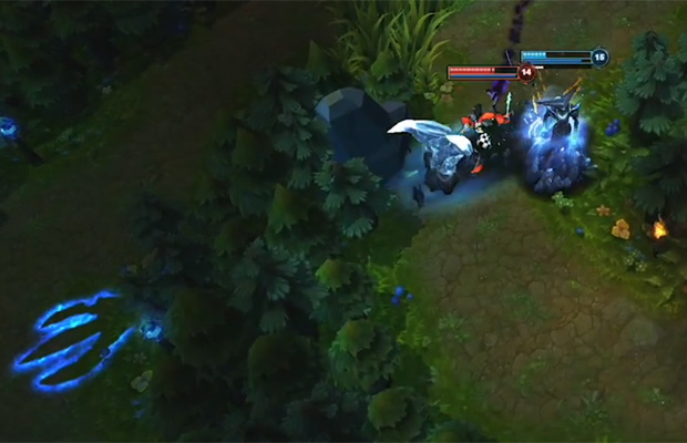 League of Legends Lissandra Escape Tool