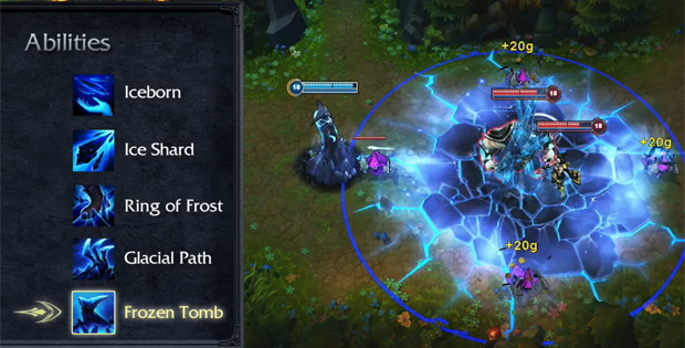 League of Legends Lissandra Frozen Tomb