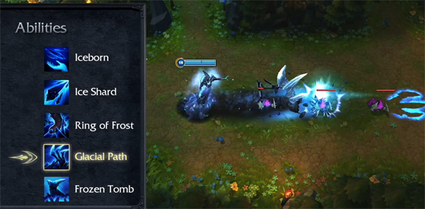 League of Legends Lissandra Glacial Path