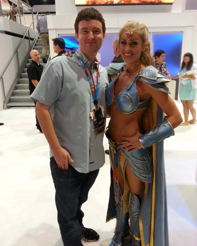 Everquest Girl e3 2013
