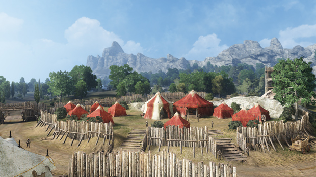 Black Desert Tent Community