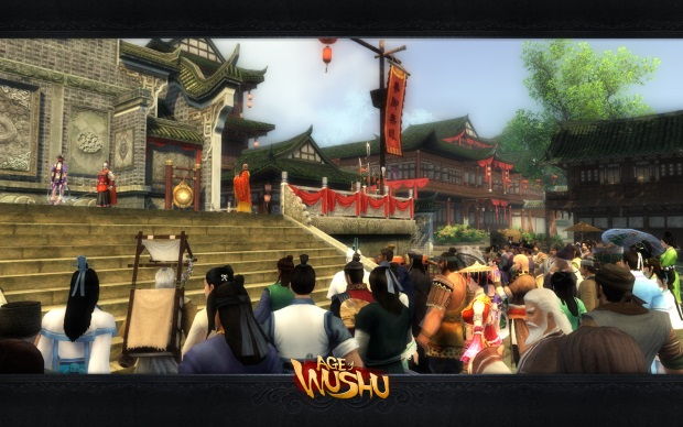 age of wushu crowd