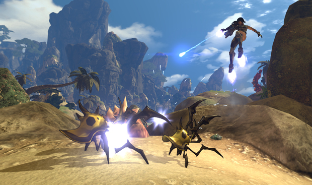 Firefall Beta 1