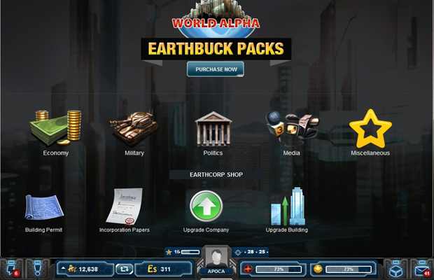WorldAlpha Earth Bucks