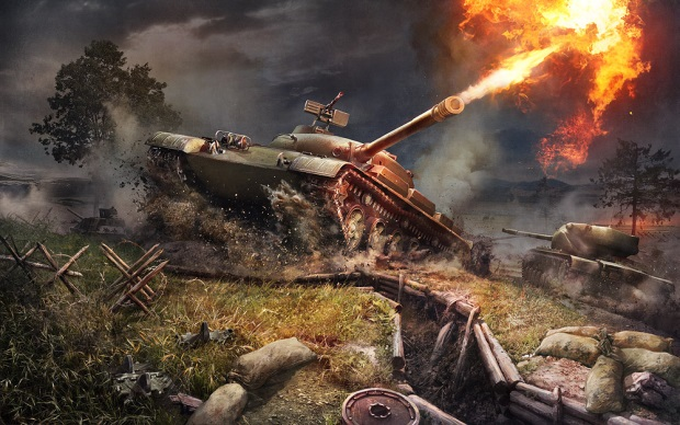 World of Tanks 8 8 Art
