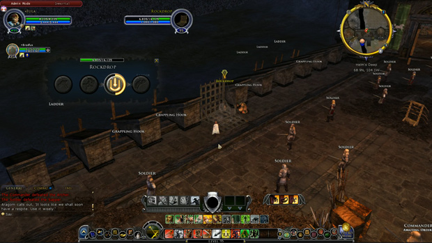 LOTRO Epic Battles Rockdrop