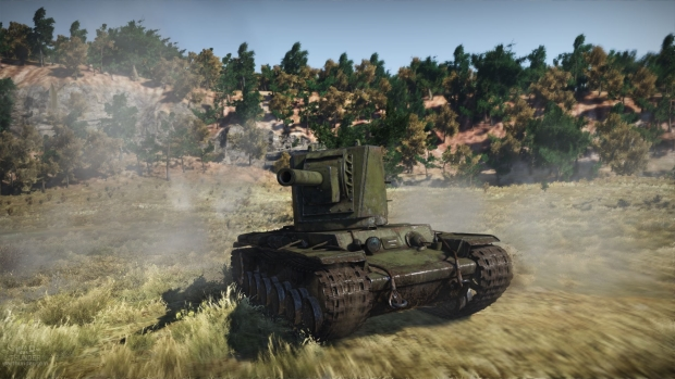WT Ground Forces KV 2 hd