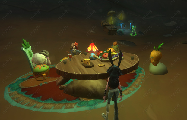 WildStar Alice Tea Party