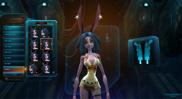 WildStarCharacterCustomization