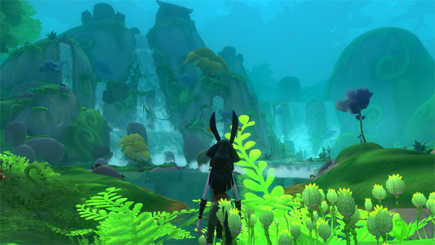WildStar Waterfall