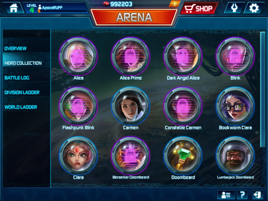 Arena Of Heroes Review Heroes