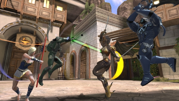 DCUO Amazon DLC Fight