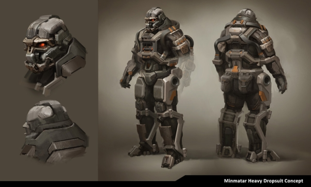 DUST 514 Dropsuit