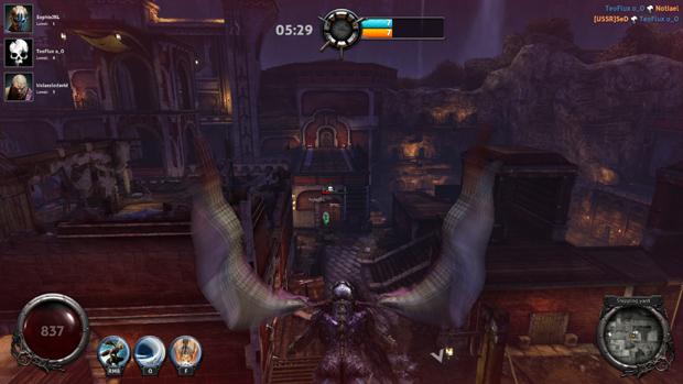 Nosgoth CB Review Flying