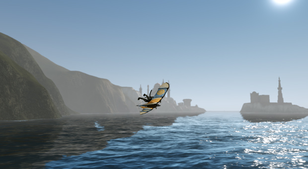 ArcheAge Preview Glider