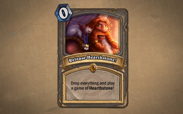 Hearthstone Launch