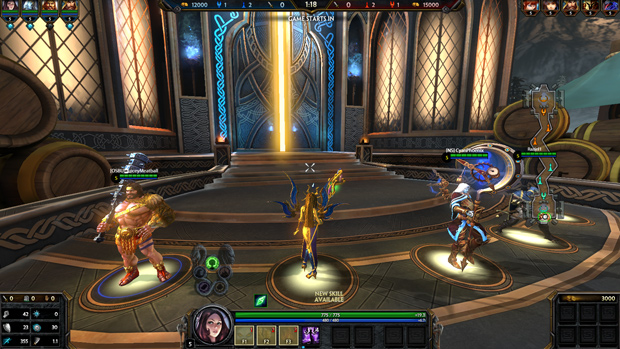 SMITE NuWa Gameplay