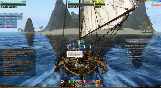 ArcheAge Preview Trade Run