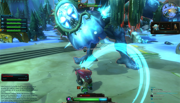 WildStar War Of Wilds Frost Giant
