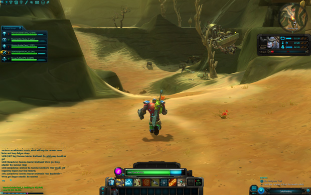 WildStar Malgrave Granite Lake