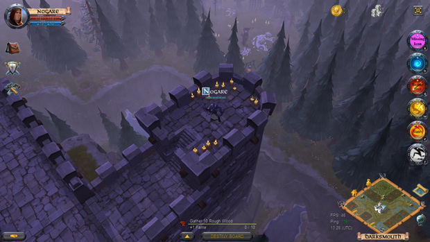 Albion Online castle_evening