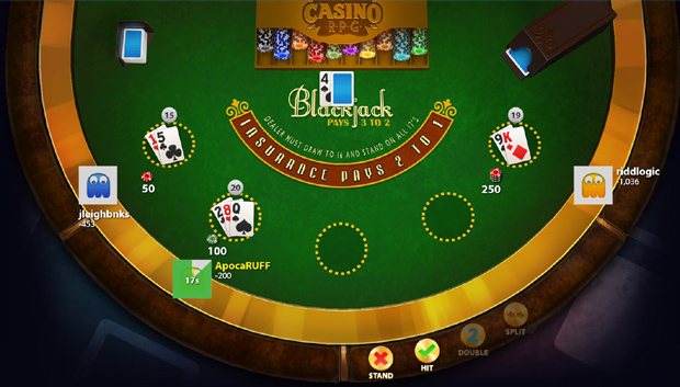 CasinoRPG Review Blackjack