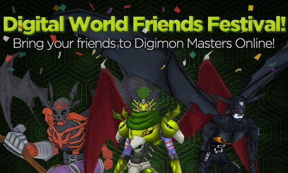 Digimon Masters Friendstival