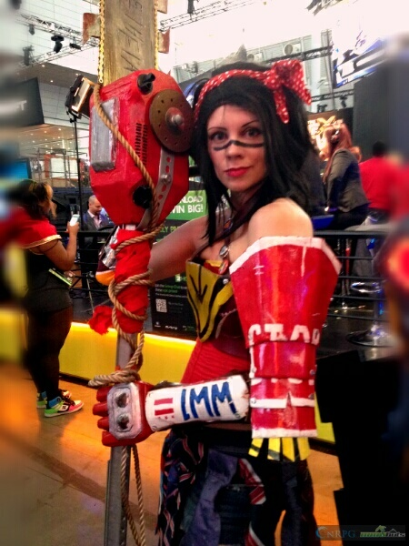 PAX East Wonderwoman Cosplay