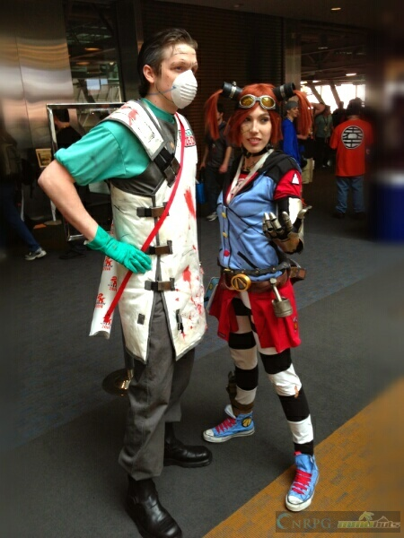 PAX East Borderlands Doctor Cosplay