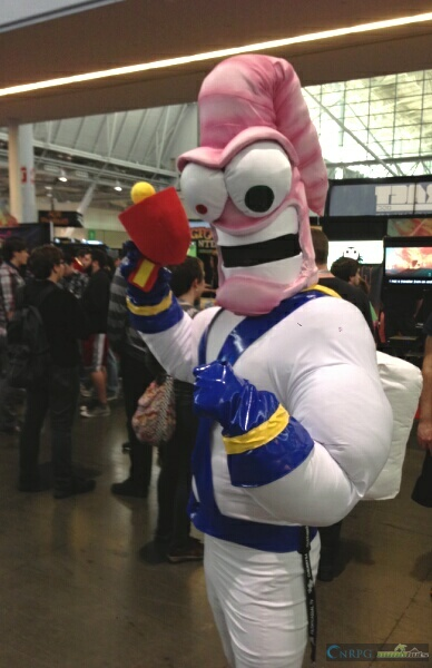 PAX East Earthworm Jim Cosplay