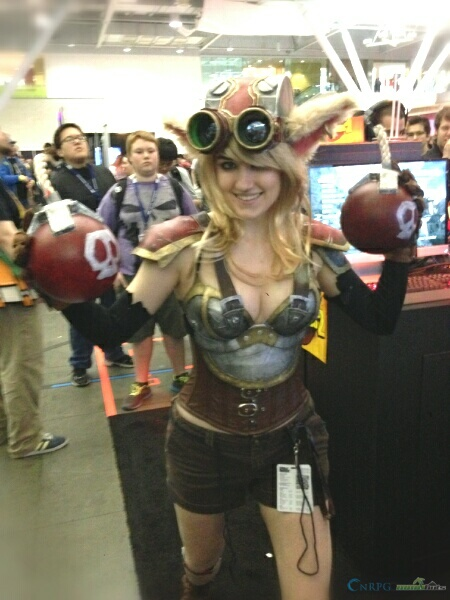 PAX East Female Ziggs Cosplay