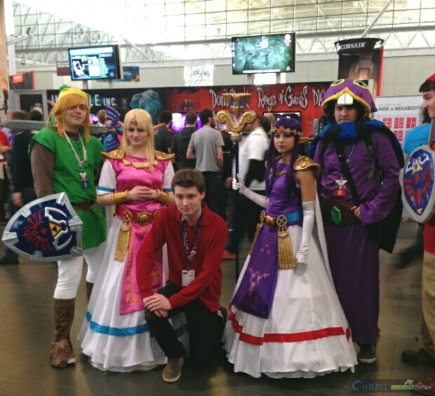 PAX East Group Zelda Cosplay