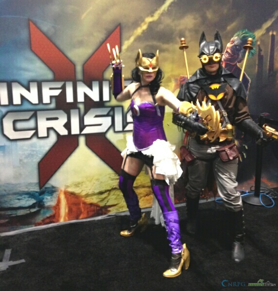PAX East Infinite Crisis Batman Cosplay