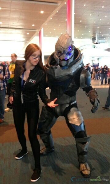 PAX East Mass Effect Cosplay