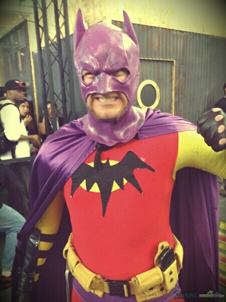 PAX East Purple Batman Cosplay