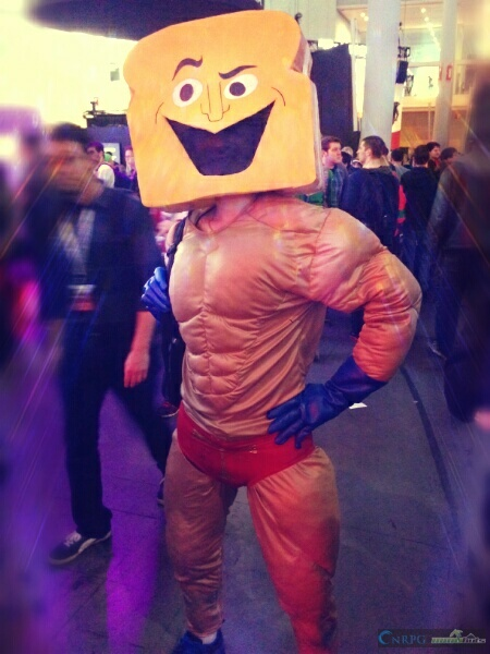 PAX East Toastman Cosplay