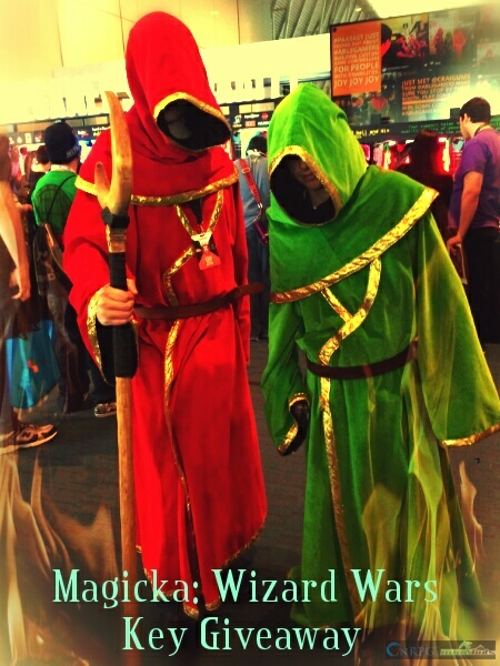 PAX East Wizard Wars Cosplay