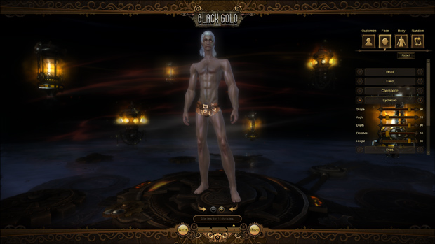 Black Gold Online Review Character Creation