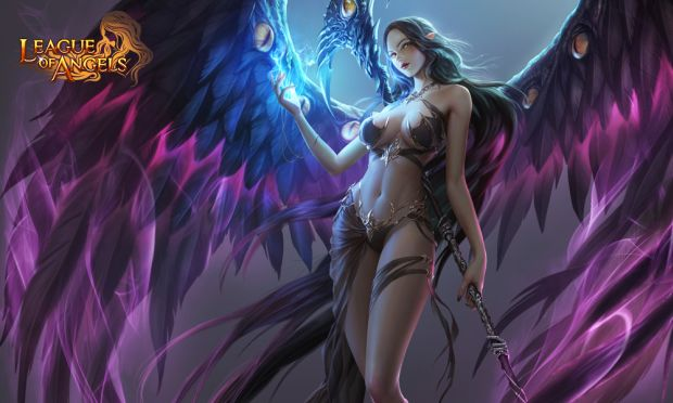 League of Angels Black Angel