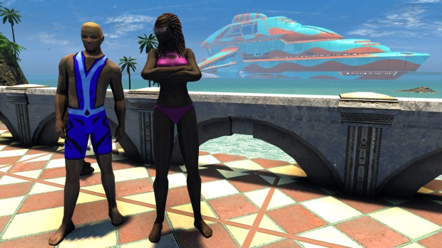 Star Trek Online Swimsuit