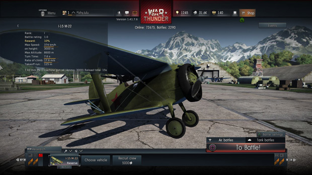War Thunder PS4 Review Axis-Air