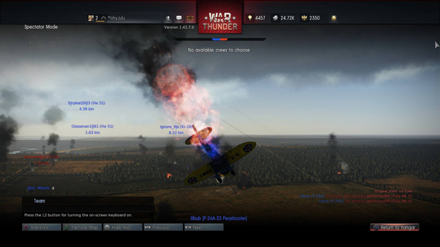 War Thunder Review Crash-and-burn
