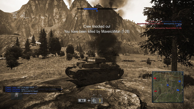 War Thunder PS4 Review Insert-death