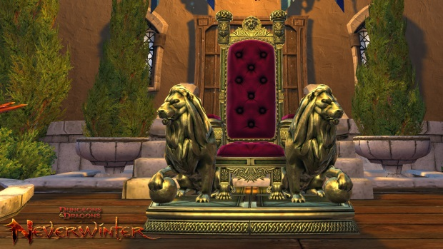 Neverwinter Throne Mount