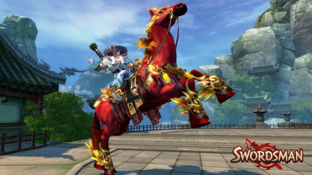 Swordsman Hero Mount
