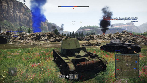 War Thunder PS4 Review Zaku-tank-maybe
