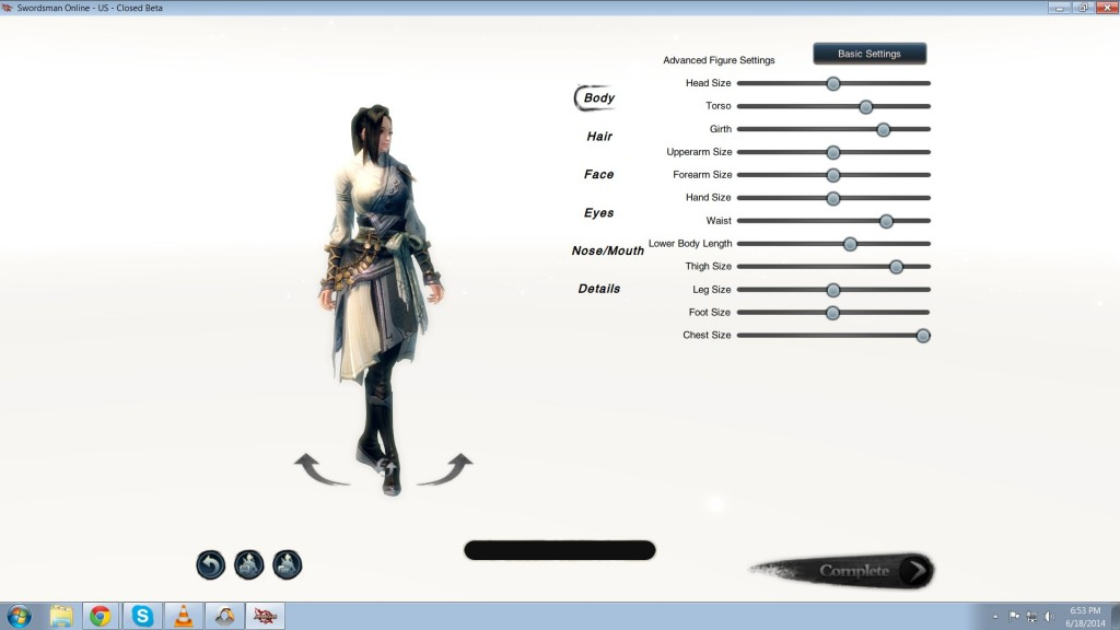 Swordsman CB Review Look at my body