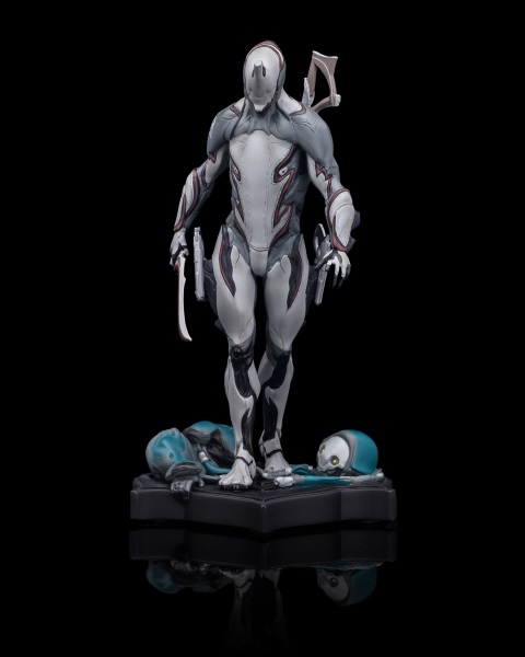 Warframe Excal Statue