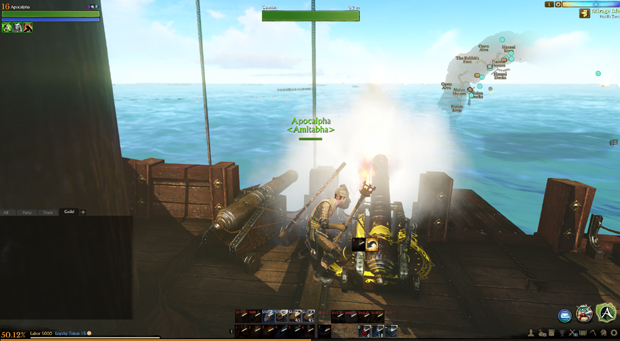 ArcheAge Boats Cannon